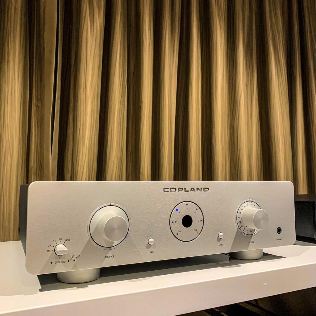 amplificatore integrato stereo Copland CSA 100