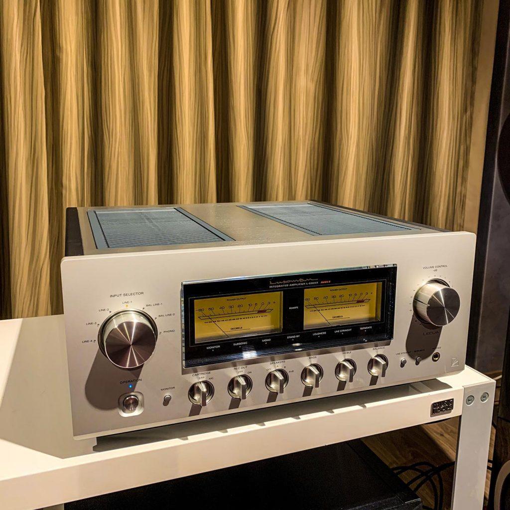 Amplificatore integrato stereo Luxman L-590AXII