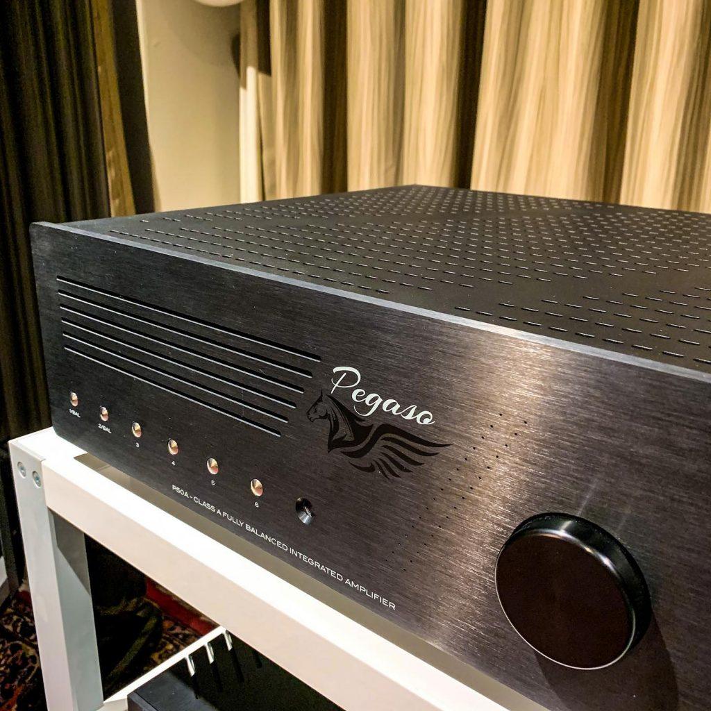 Amplificatore integrato stereo Pegaso P50A