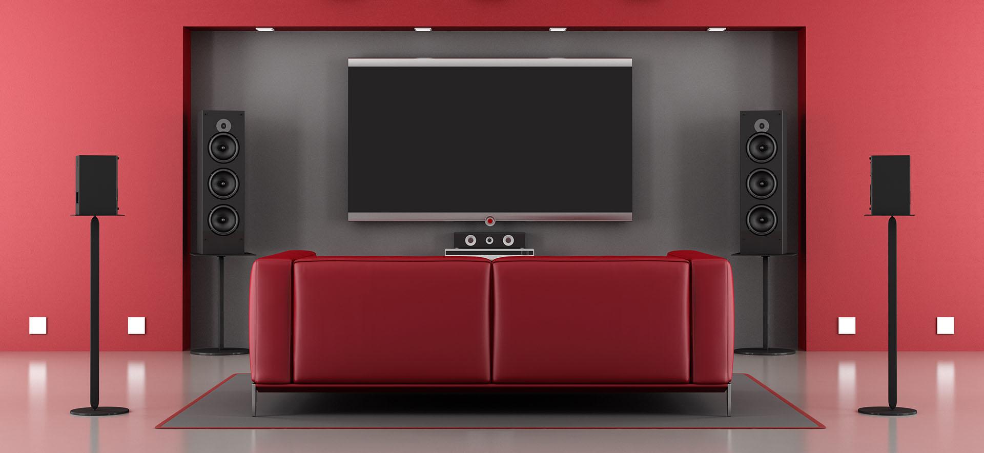 home cinema audio surround multicanale