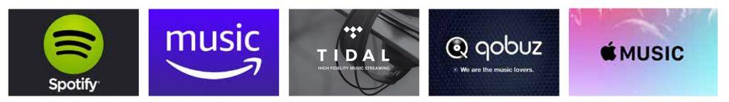 streaming servizi spotify amazon music apple music qobuz tidal